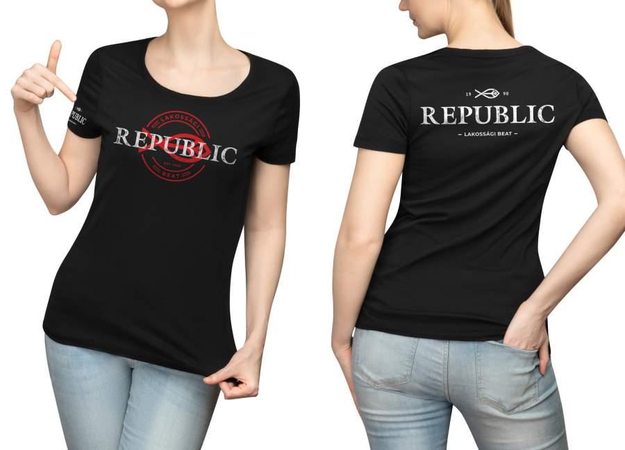 Republic női póló