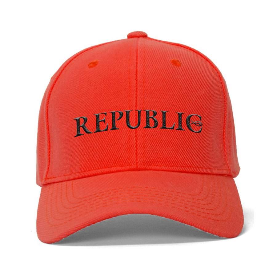 Republic baseball sapka - piros