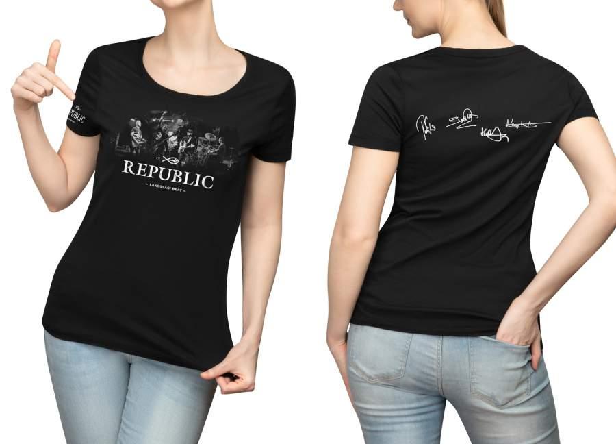 Republic dedikált női póló